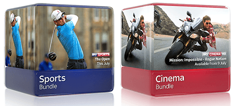 Sports and Cinema bundles